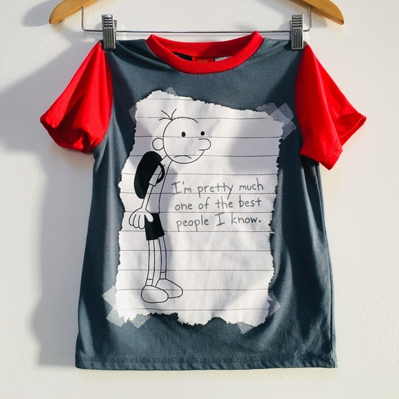 5b1da3053 DIARY OF A WIMPY KID Other - DIARY OF A WIMPY KID T Shirt M